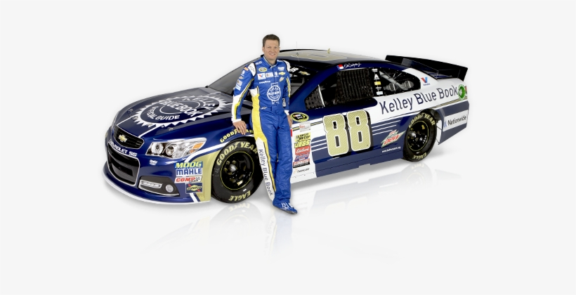 The Kelley Blue Book Logo Will Be Displayed On Every - Dale Earnhardt Jr Png, transparent png #3703258