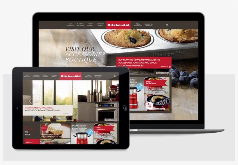 Corporate Websites - - Kitchenaid - 6 Piece Muffin Tin - Set Of 2, transparent png #3703601