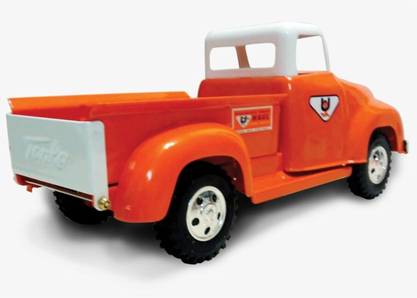 Tonka Rear-view Cutout - Pickup Truck, transparent png #3703767