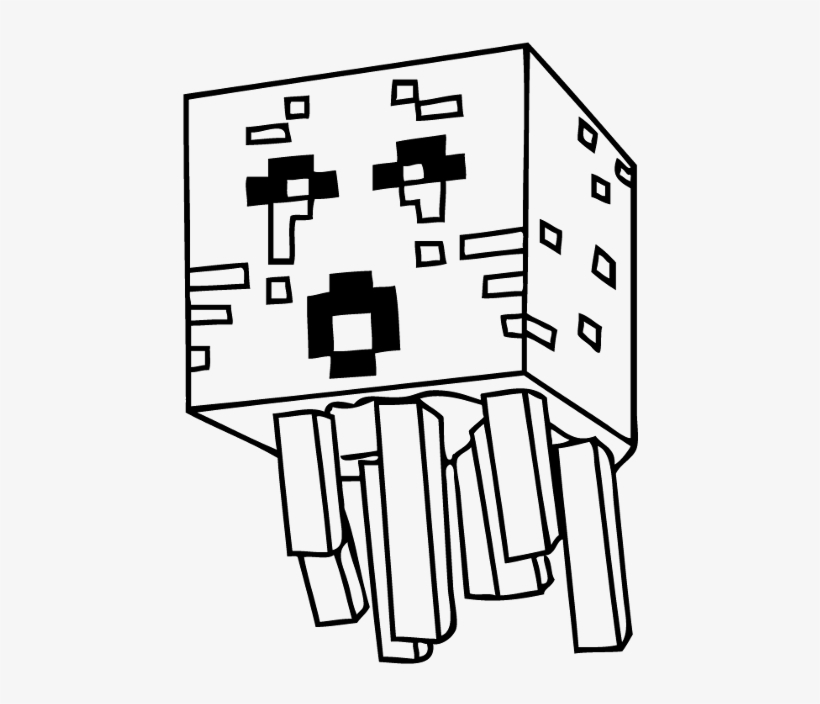 Coloring Pages Drawing Minecraft, transparent png #3709883