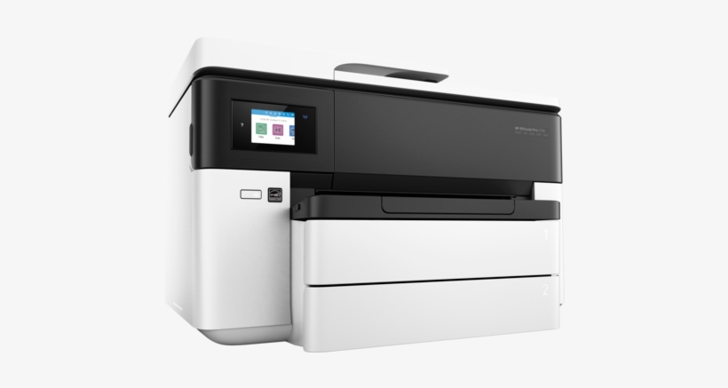 Hp Officejet Pro 7730 Wide Format All In One Printer - Hp Officejet Pro 7730, transparent png #3711150
