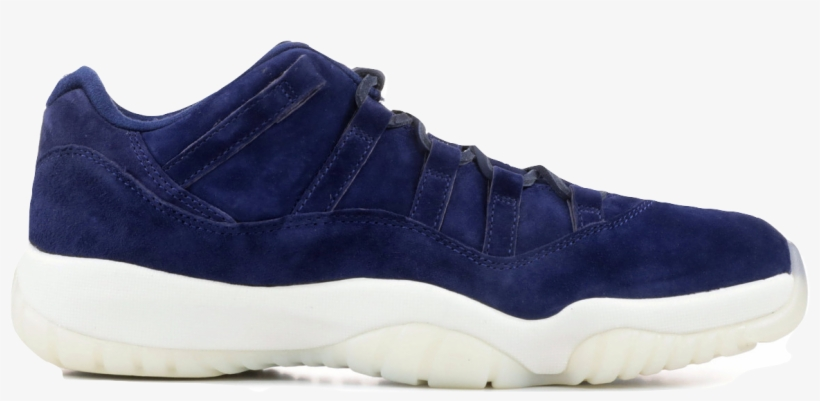 Air Jordan 11 Retro Low Suede Free Transparent Png Download Pngkey