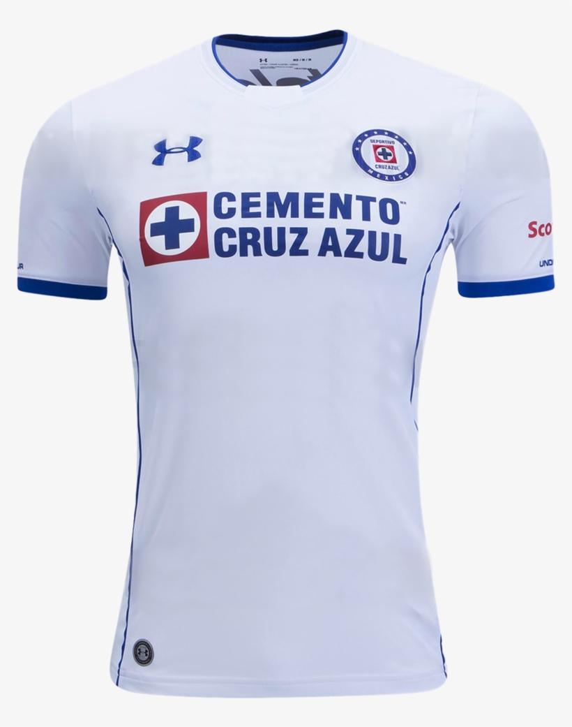Cruz Azul 17/18 Away Jersey - Camisa Del Cruz Azul, transparent png #3712449