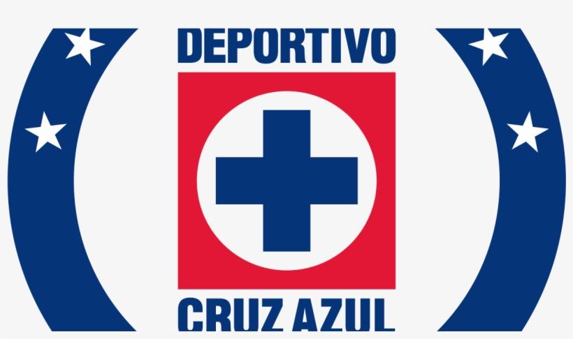 Cruz Azul Pisa La Liguilla Al Vencer 2-1 A Monterrey - Cruz Azul Logo Dream League Soccer, transparent png #3712977