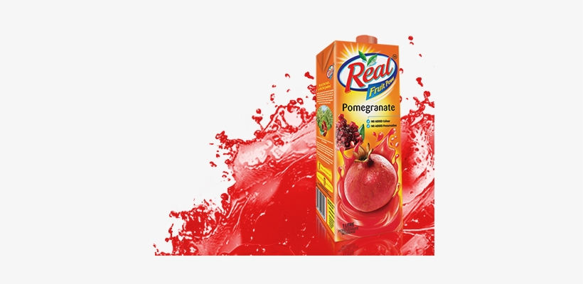 Real Pomegranate - Real Fruit Power Fruit Power Apple, 1l, transparent png #3718232