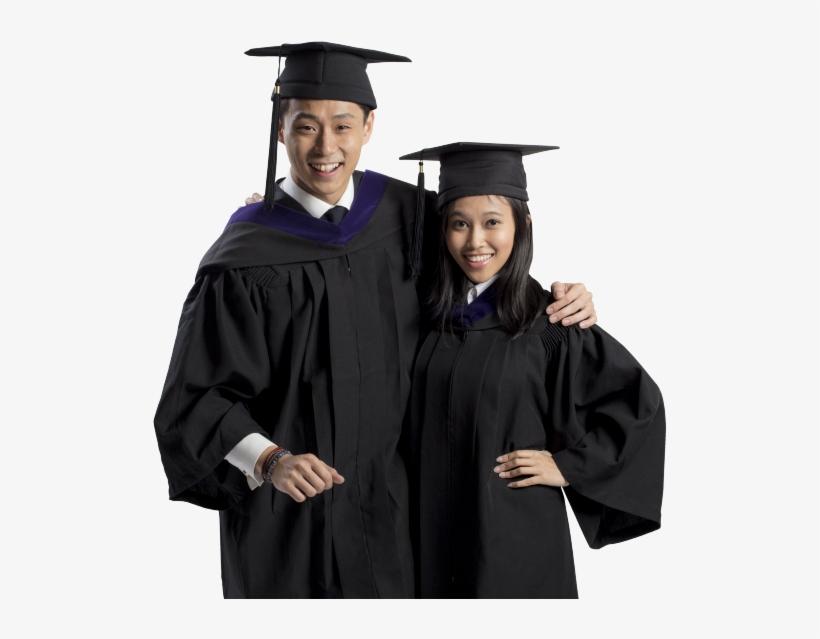 Graduation Means More Responsibilities, Hard Work And - Singapore Management University Graduation Gown, transparent png #3718528