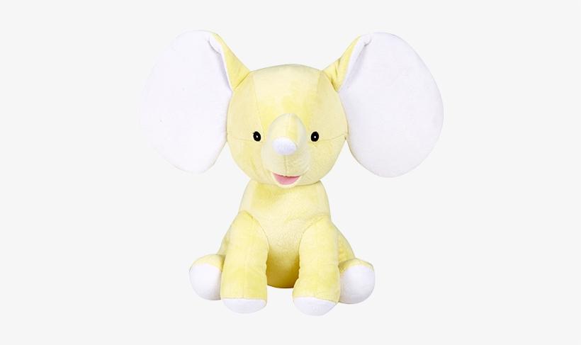 Cubbies Yellow Elephant Dumble Stuffed Animal Personalized Stuffed