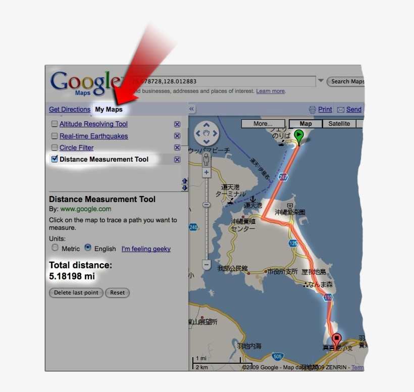 There Are So Many Little Enhancements That I Stopped - Google Map Ruler, transparent png #3725280