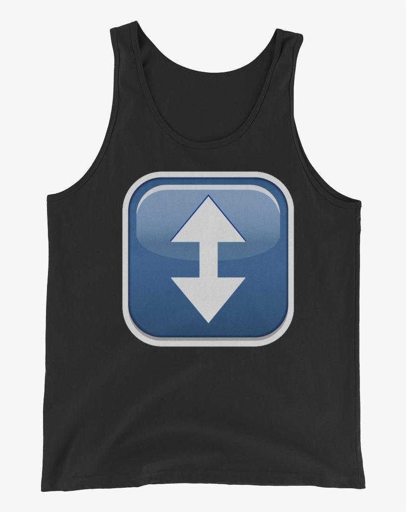 Men's Emoji Tank Top - Top, transparent png #3725427