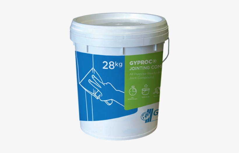 Gyproc Jointing Compound - Gyproc Joint Compound, transparent png #3725938