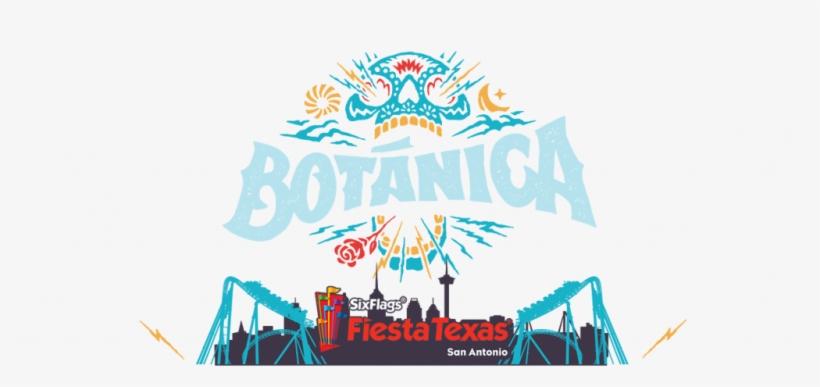 The Inaugural Botanica Music Festival Takes Place March - Six Flags Fiesta Texas Frame, transparent png #3726765
