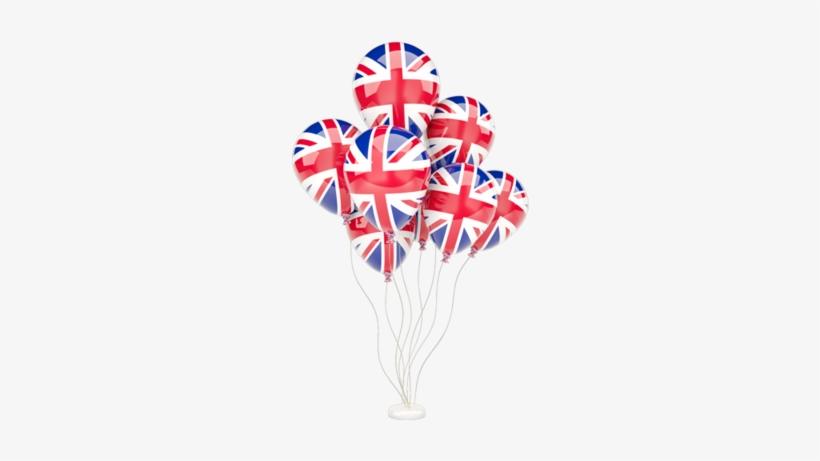 Illustration Of Flag Of United Kingdom - English Flag Balloon Png, transparent png #3728711
