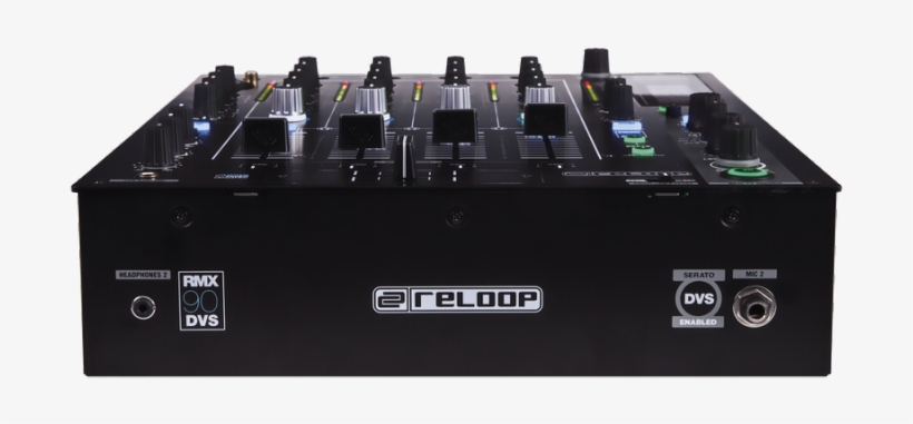 Reloop Rmx90dvs 4 1 Channel Digital Club Mixer With - Reloop Rmx-90 Dvs 4-channel Dj Mixer For Serato, transparent png #3730962
