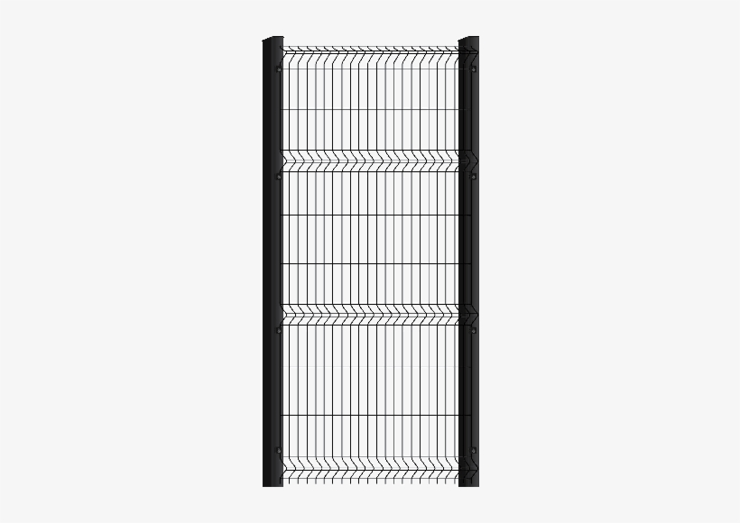 Model Name, Medium Mesh Fence - Clear View Security Gate, transparent png #3731462