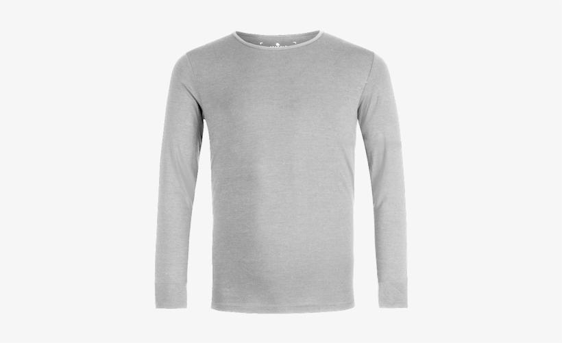 Action Merino Long Sleeves T-shirt - Long-sleeved T-shirt, transparent png #3733449