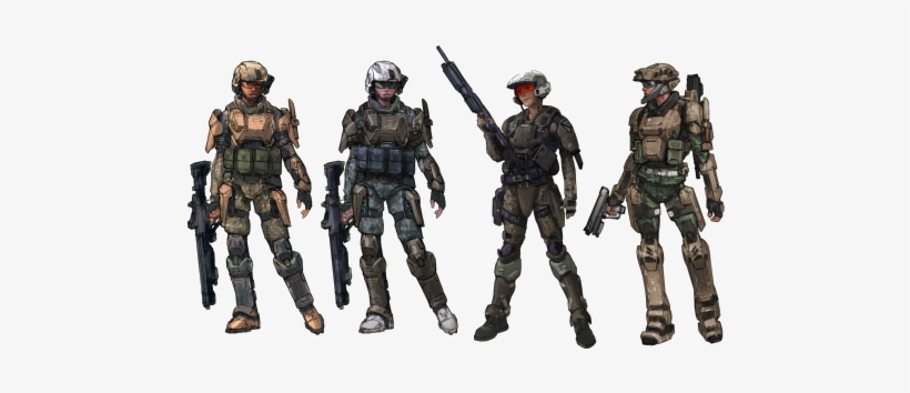 Concept Art From Halo - Halo Reach Armor Concept Art - Free