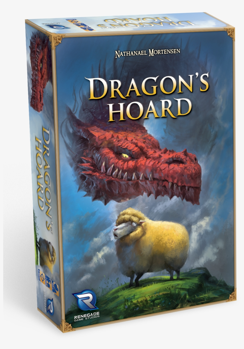 In This Game You Are A Dragon Trying To Hoard The Most - Renegade Game Studios Dragon's Hoard Card Game, transparent png #3734589