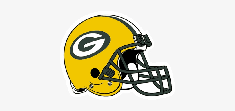 Considering Nfl Team Helmet Logos - Green Bay Packers Helmet Clipart, transparent png #3736487