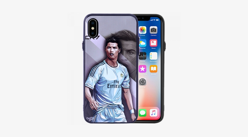 Boter Cr7 Fly Emirates Design Silicon Bumper Hardback - Tech21 Evo Tactical Case For Iphone X - Black, transparent png #3737849