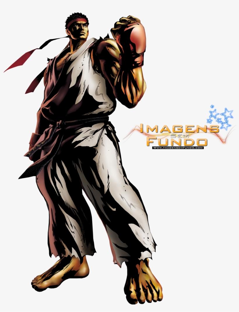 Renders E Imagens Sem Fundo - Marvel Vs Capcom 3 Ryu, transparent png #3737883