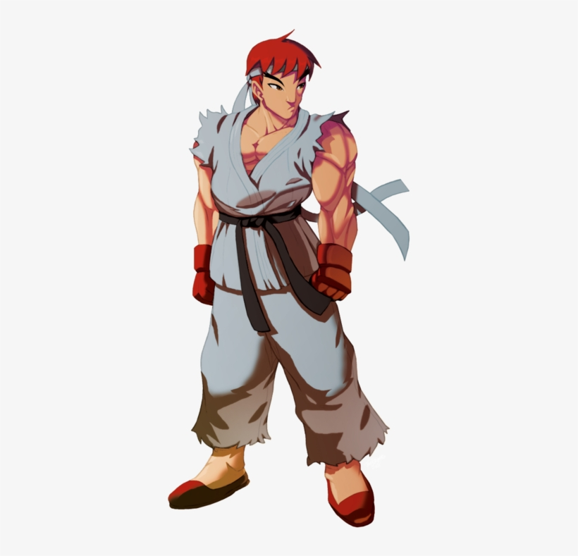 Ryu - Ryu Street Fighter Fan Art, transparent png #3737910