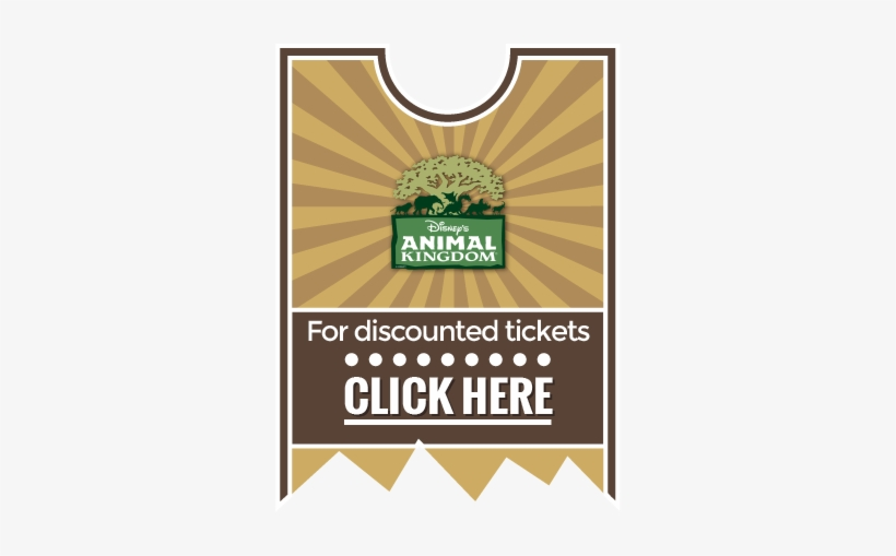 Animal Kingdom Discount Ticket - Disney Animal Kingdom, transparent png #3738073