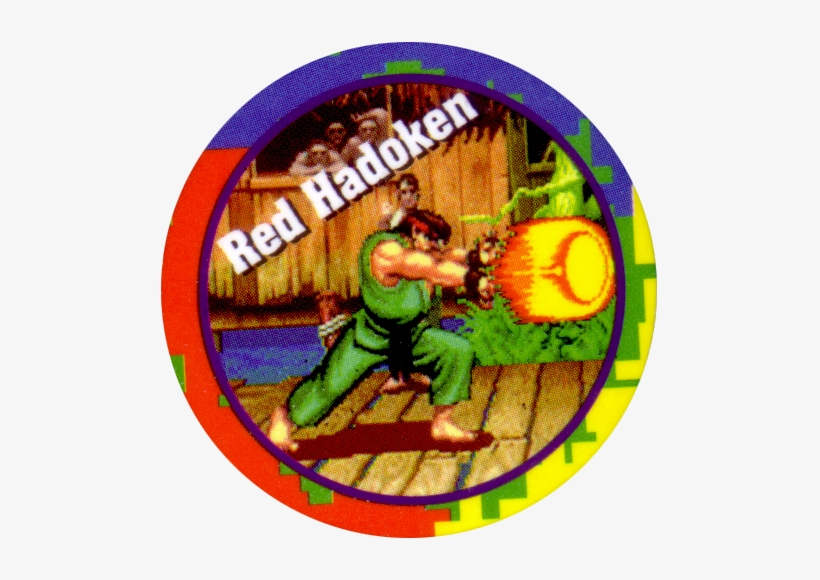 #2 - Street Fighter 2 Ryu Red Hadoken, transparent png #3738217