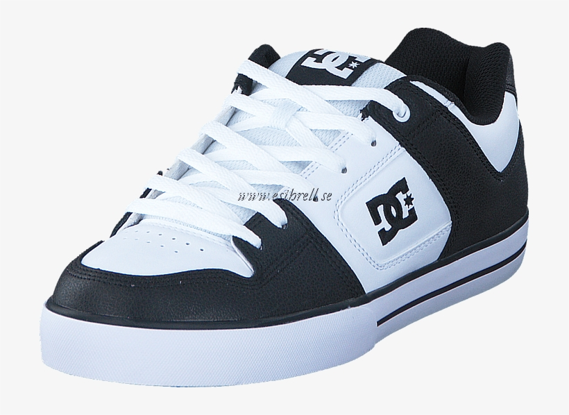 Dc Shoes Pure Black white black Herr Sneakers   Sportskor - Dc- Young a780e06ce