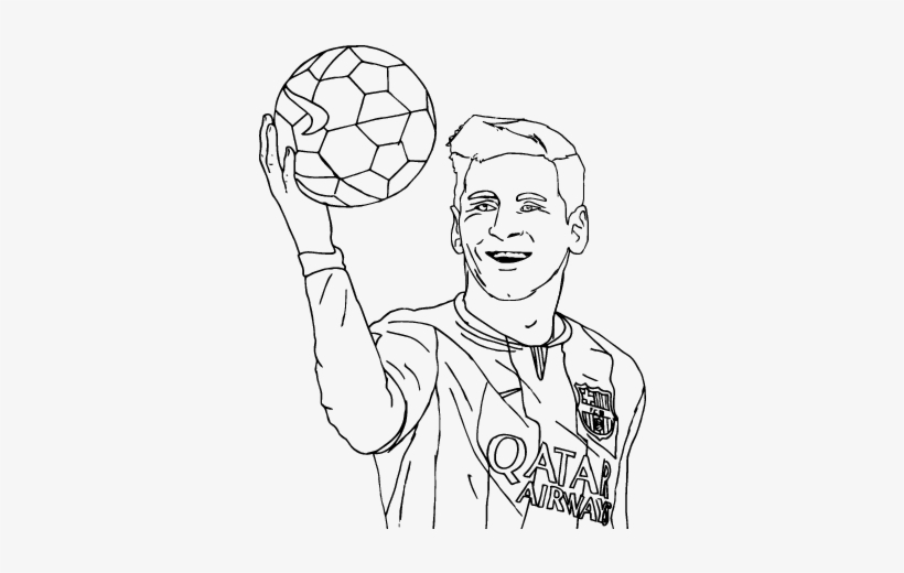 Messi Coloring Pages Lionel Messi Coloring Page Coloringcrew