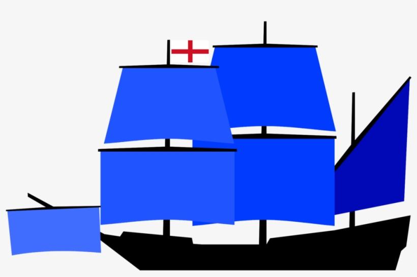 Captains Ship Vice Admirals Squadron English Navy - Carrack Sail Plan, transparent png #3743281