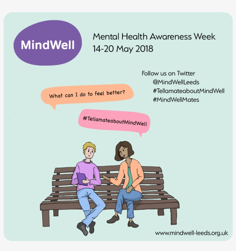 People In Leeds Are Dealing With Mental Health, Confronting - Mental Illness Awareness Week, transparent png #3743396