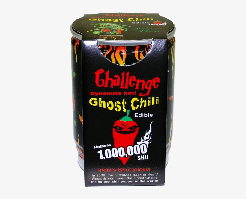Ghost Chili - Challenge Pepper Plant Trio - Ghost Chili, Scorpion, transparent png #3746477