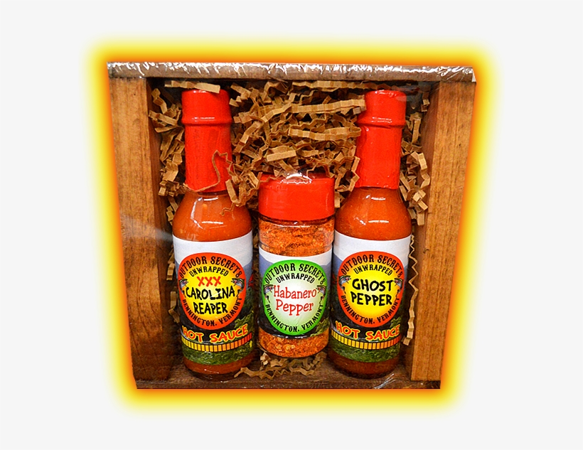 Carolina Reaper And Ghost Pepper Sauce Kit With Habanero - Hot Sauce, transparent png #3746810