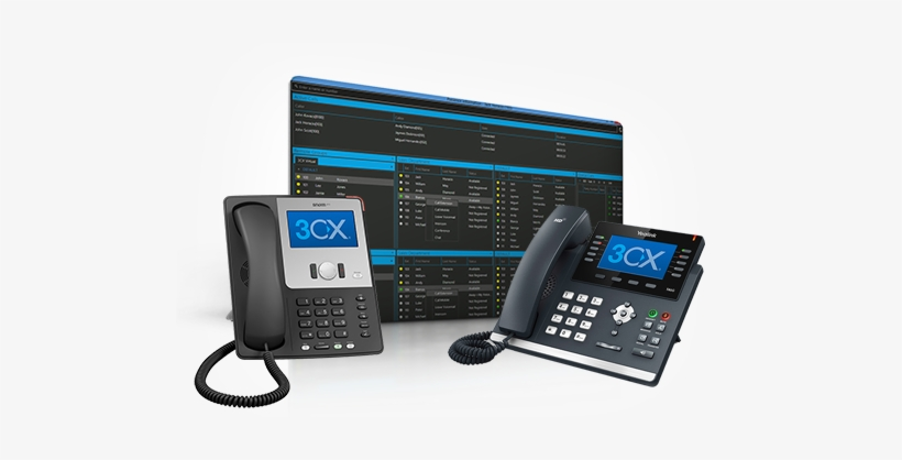 Standard Pots Lines Are Utilized To End Into A Phone - 3cx Phone System, transparent png #3747965
