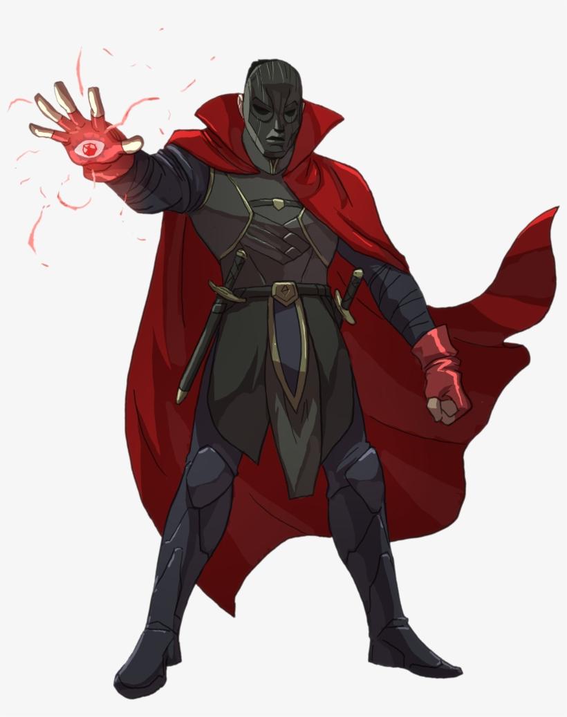 [art] My First Ever D&d Character - D&d Character Warlock, transparent png #3749151