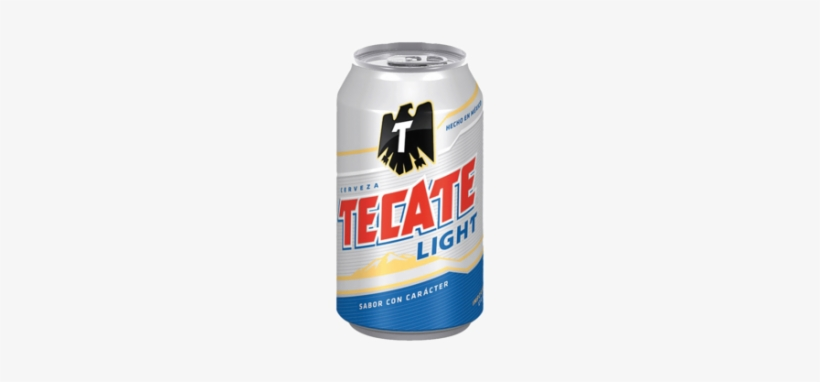 Tecate, Cuauhtémoc Moctezuma Brewery, Cerveza Tecate, - Tecate Light Beer - 20 Pack, 12 Fl Oz Cans, transparent png #3750857