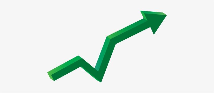 Advantages Of A Long-term Cd, Plus A Bump In Your Return - Arrow Going Up Transparent, transparent png #3750962