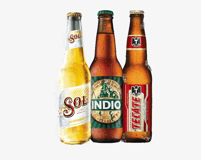 Cervezas Tecate Longneck Mexican Beer 12 Fl Oz Bottle Free
