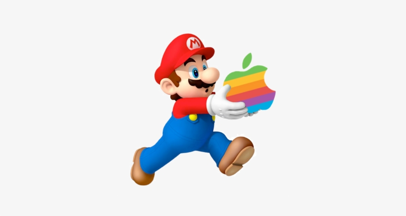 Earlier Today At Apple's Iphone 7 Reveal Event, Nintendo - New Super Mario Bros Wii, transparent png #3751296