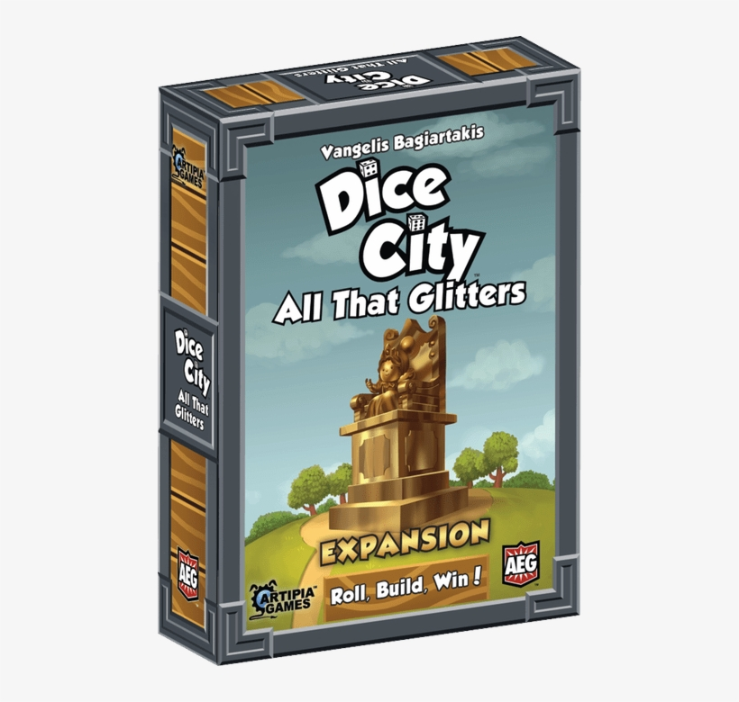 Available Now - Dice City All That Glitters Board Game, transparent png #3751427