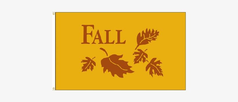 Fall Flag - 3x5' - Us Flag Store Fall Flag - 3x5 Ft.- Nylon, transparent png #3751854
