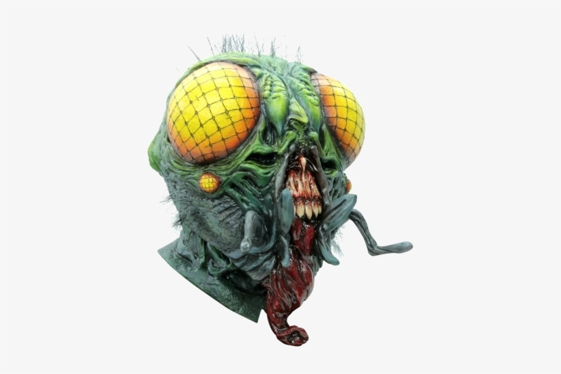 The Fly Collectors Horror Mask - Halloween Costume Fly, transparent png #3752738