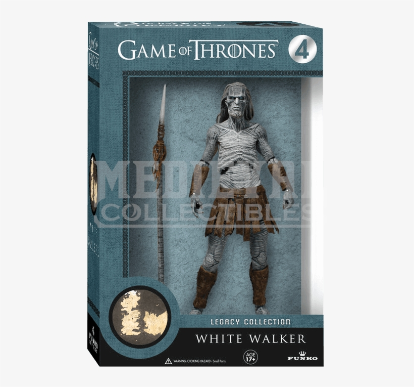 Game Of Thrones White Walker Legacy Figure, transparent png #3754554