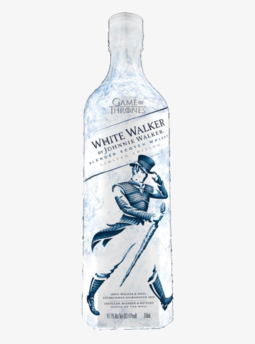 "White Walker By Johnnie Walker ""game Of Thrones"" Ltd - Johnnie Walker Game Of Thrones, transparent png #3754852"