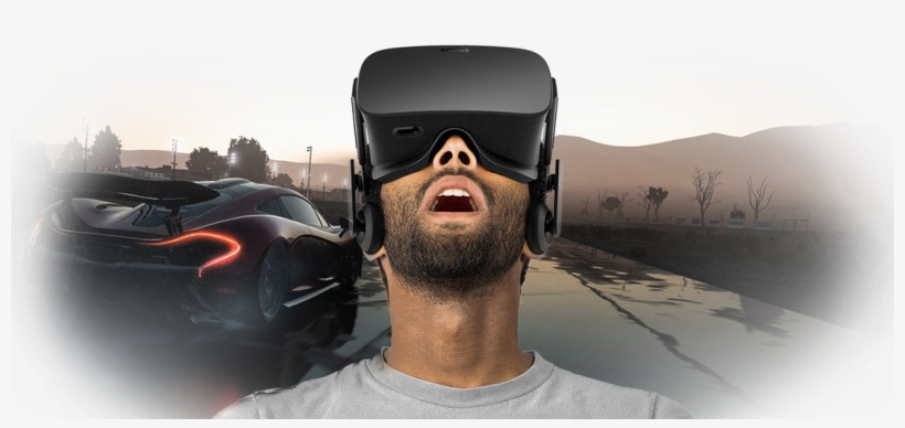 Project Cars Will Be A Launch Title For Oculus Rift - Oculus Rift Cv1 Virtual Reality Brille, transparent png #3755498
