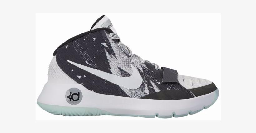 Nike Kd Trey 5 Iii Prm Men's White Basketball Shoes - Nike Men's Kd Trey 5 Premium Basketball Shoes, Black, transparent png #3756153