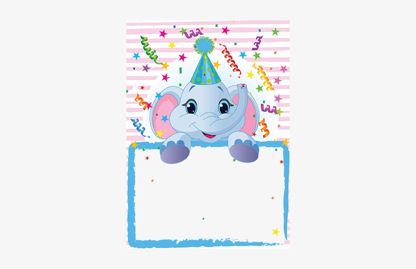 Baby First Birthday In Photo Frame Marcos Para Cumpleaños Bebe