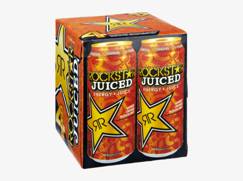 Rockstar Zero Carb Energy Drink 16-ounce Cans (pack, transparent png #3758299