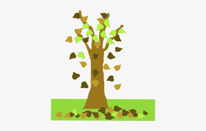 Leaves,season,free Vector Graphics - Animated Leaves Falling From Tree, transparent png #3759296