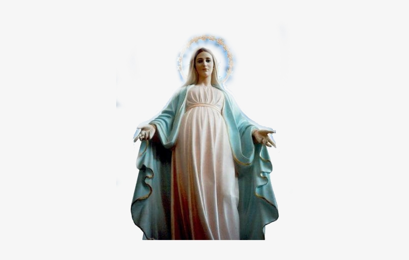 Virgen Maria Png - Virgin Mary Real Life, transparent png #3762481